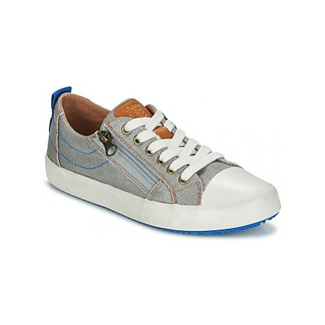 Geox J ALONISSO B. D boys's Children's Shoes (Trainers) in Grey
