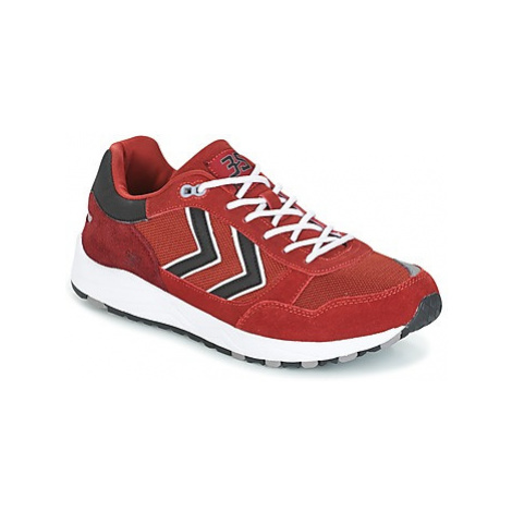 Hummel 3S SPORT women's Shoes (Trainers) in Red