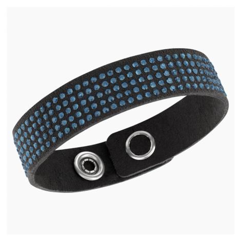Slake Bracelet, Blue Swarovski