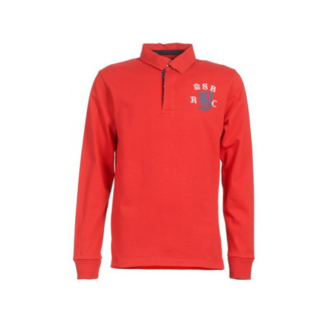 Serge Blanco MATO men's Polo shirt in Red