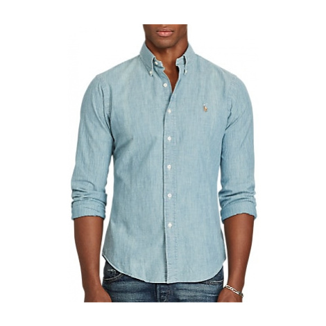 Polo Ralph Lauren Chambray Slim Fit Shirt, Chambray