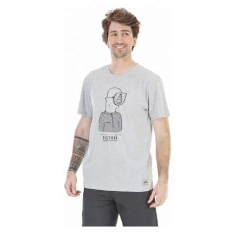 Picture GUEULE de BOIS grey - Men's T-shirt with a print