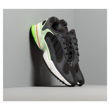 adidas Yung-1 Trail Carbon/ Core Black/ Glow Green