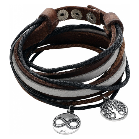 Wildkitten® - Tree Of Life - Imitation Leather Bracelet - brown