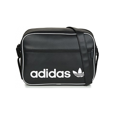 Adidas AIRLINER VINT men's Messenger bag in Black