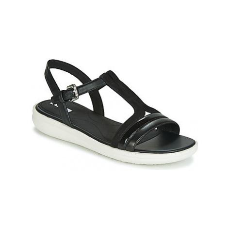 Geox JEARL SAND B women's Sandals in Black