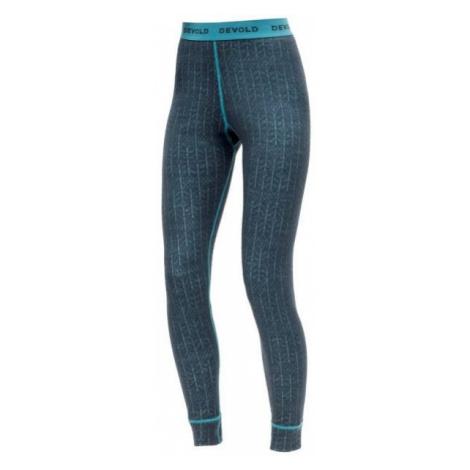 Devold DUO ACTIVE WOMAN LONG JOHNS blue - Women's underpants