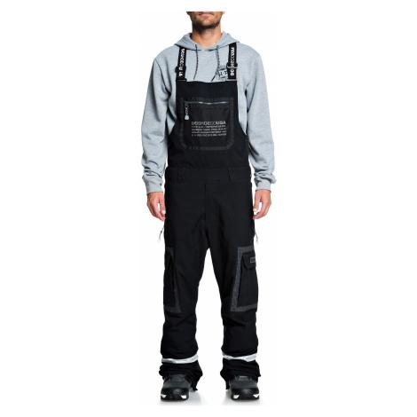 pants DC Revival Bib - KVJ0/Black - men´s