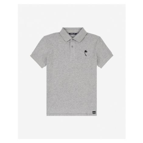 O'Neill Palm Kids Polo Shirt Grey