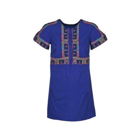 Antik Batik EMILIE women's Dress in Blue