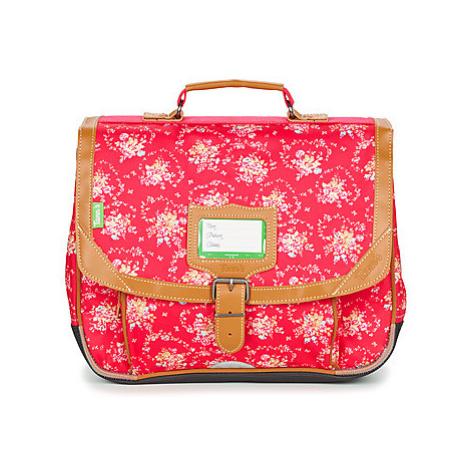 Red girls' backpacks, handbags and school bags