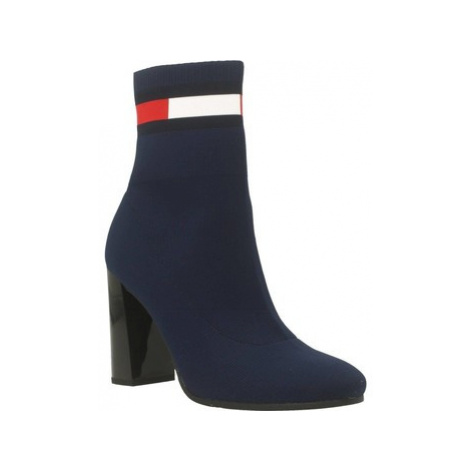 Tommy Jeans SOCK women's Low Ankle Boots in Blue Tommy Hilfiger