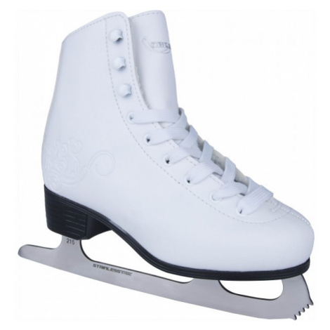 Crowned LUXURY-JR white - Girls' ice skates