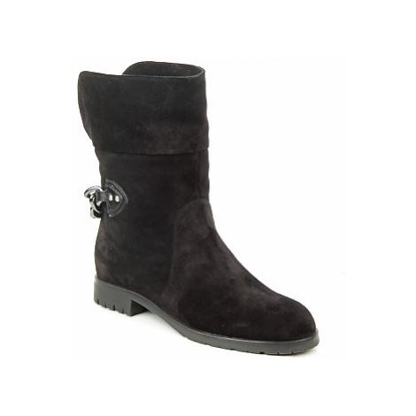 Marc Jacobs CHAIN BOOTS women's Mid Boots in Grey