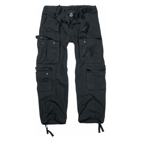 Brandit - Pure Vintage Trousers - Trousers - black