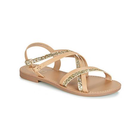 Only MANDALA CROSSOVER women's Sandals in Beige