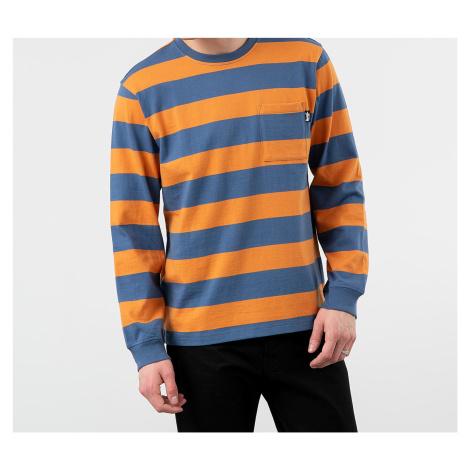 Stüssy Classic Stripe Long Sleeve Tee Navy Stussy