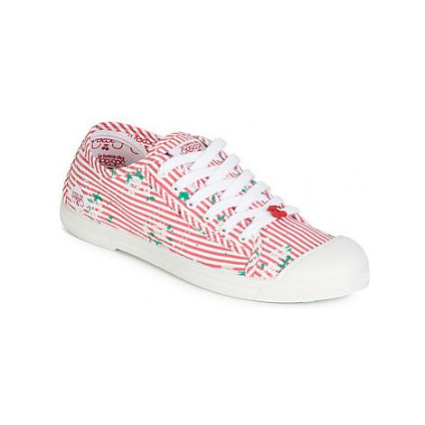 Le Temps des Cerises BASIC 02 women's Shoes (Trainers) in Red