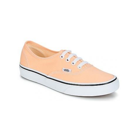Vans AUTHENTIC women's Shoes (Trainers) in Beige