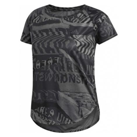adidas OWN THE RUN TEE grey - Women's T-shirt