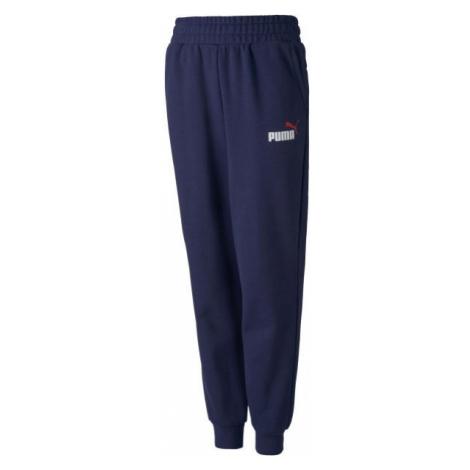 Puma ESS 2 COL LOGO SWEAT PANTS dark blue - Sports sweatpants
