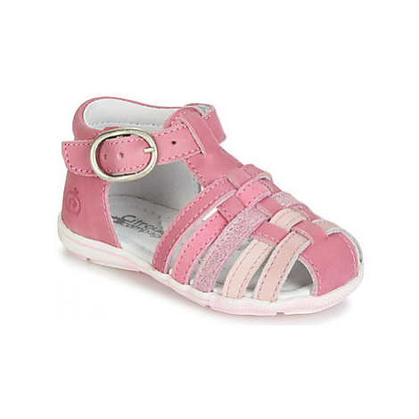 Citrouille et Compagnie VISOTU girls's Children's Sandals in Pink