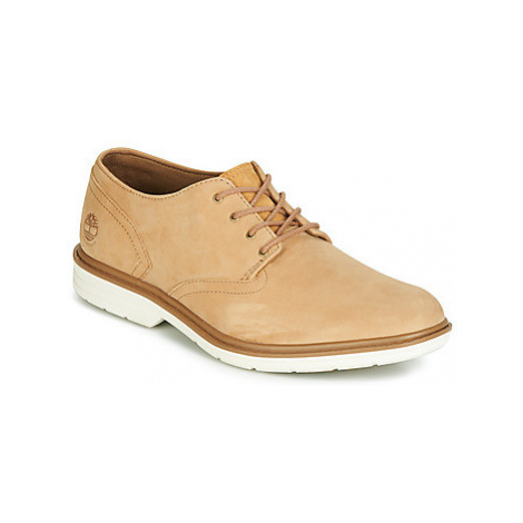 Timberland SAWYER LANE WP OXFORD men's Casual Shoes in Beige