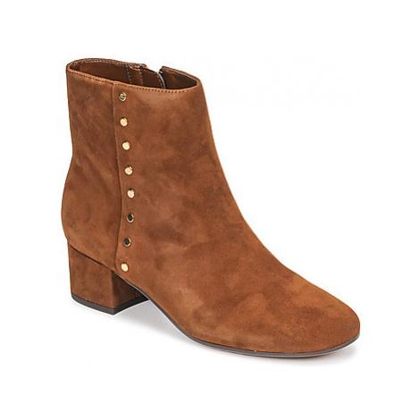 Lauren Ralph Lauren WHARTON-BOOTS-CASUAL women's Low Ankle Boots in Brown