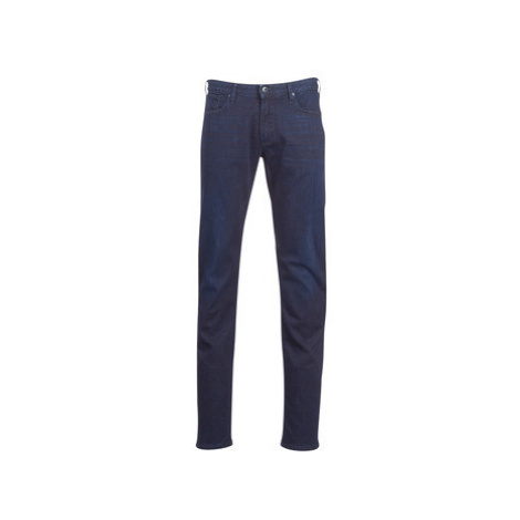 Emporio Armani YEMA men's Skinny Jeans in Blue