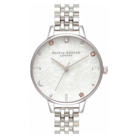 Olivia Burton Silver Bracelet Watch OB16GD30