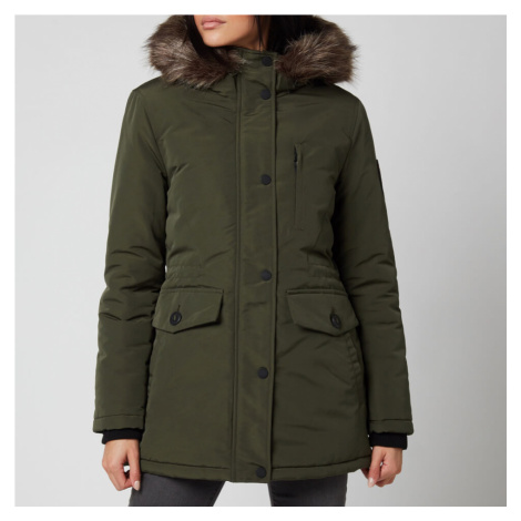 Superdry Women's Everest Parka - Army Khaki