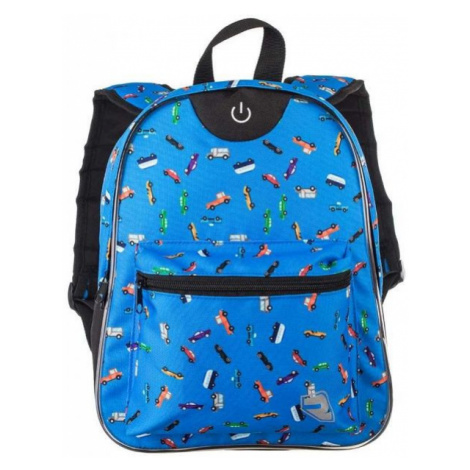 Runto RT-LEDBAG blue - Children's backpack with lightning