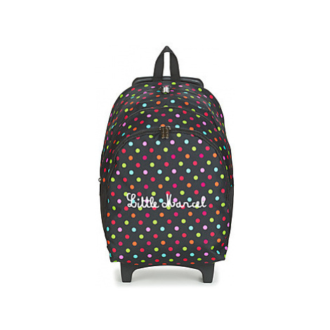 Little Marcel VIENI girls's Children's Rucksack in Black
