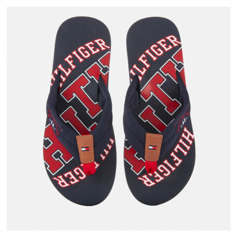 Tommy Hilfiger Men's Simon Essential Beach Toe Post Sandals - Midnight - UK