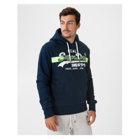 SuperDry Vintage Logo Cross Sweatshirt Blue