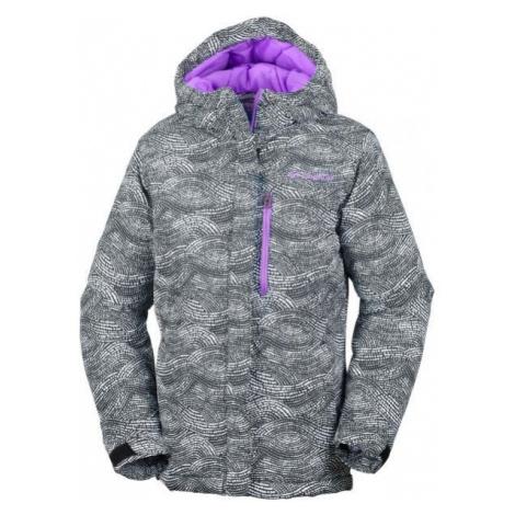 Columbia ALPINE FREE FALL JACKET GIRLS grey - Girls' winter jacket