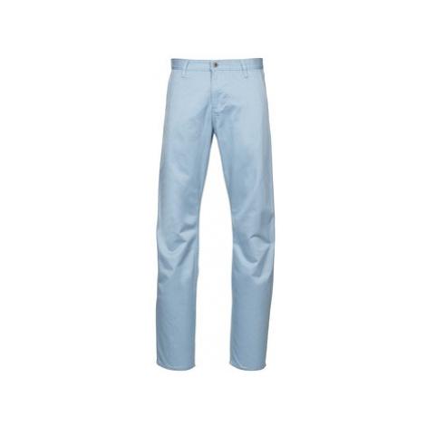 Dockers ALPHA KAKI COLOR men's Trousers in Blue