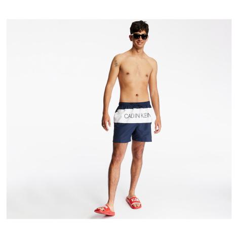 Calvin Klein Medium Drawstring Swim Shorts Black Iris