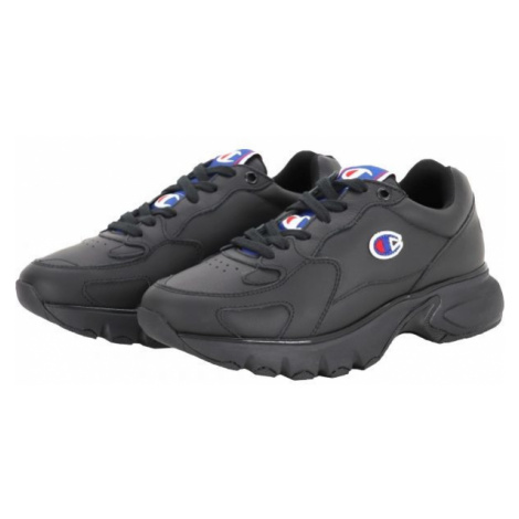 Champion LOW CUT SHOE LEATHER black - Women's sneakers