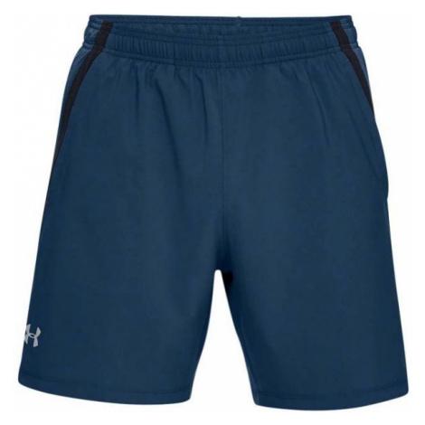 Under Armour UA LAUNCH SW 7'' SHORT blue - Men's shorts