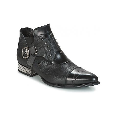 New Rock BRAVA men's Mid Boots in Black