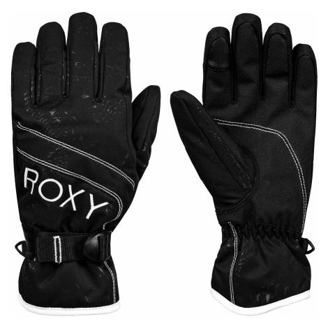 glove Roxy Jetty Solid - KVJ0/True Black - women´s