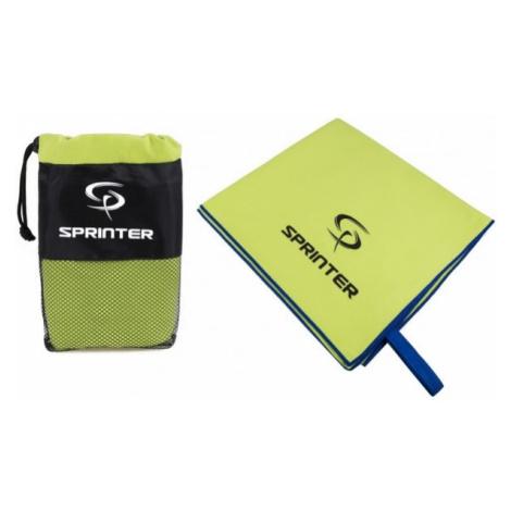 Sprinter RUČNÍK Z MIKROVLÁKNA 100x160CM green - Microfibre towel