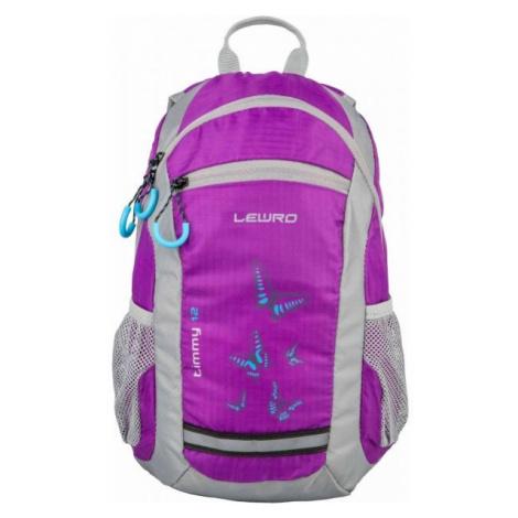 Lewro TIMMY 12 purple - Children's backpack