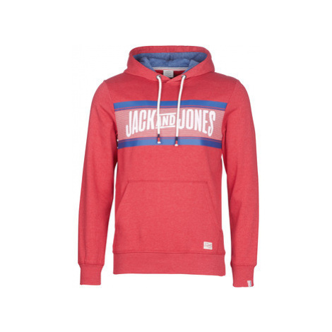Jack Jones JORLONELY men's Sweatshirt in Red Jack & Jones