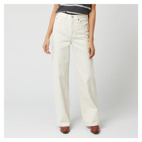 Levi's Women's Ribcage Wide Leg Jeans - Icy Ecru Levi´s