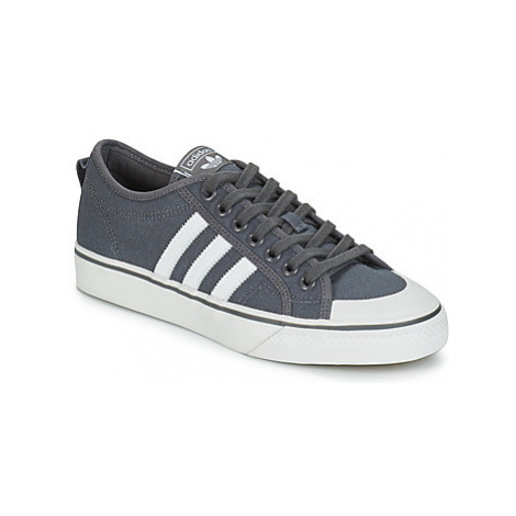 Adidas NIZZA women's Shoes (Trainers) in Grey
