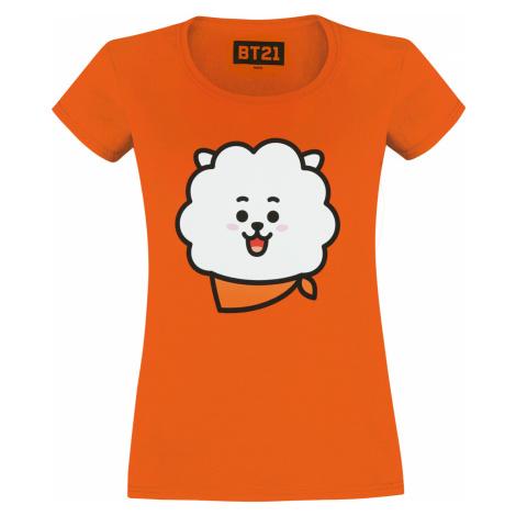 BT21 - RJ - Girls shirt - orange