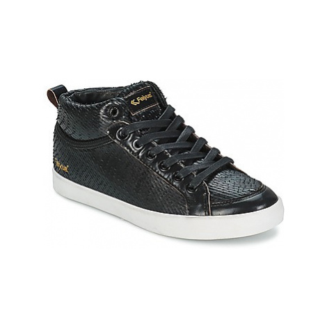 Feiyue DELTA MID DRAGON women's Shoes (High-top Trainers) in Black