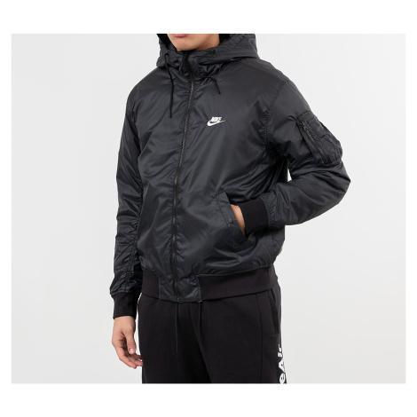 Nike Sportswear Windrunner Hooded Reversible Jacket Black/ Black/ White/ Sail